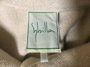 シビラ Sybilla ジャケット サイズM M レディース アイボリー ウール/春・秋物【中古】