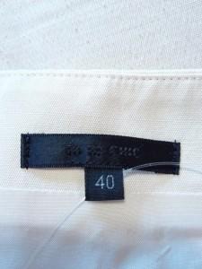 トゥービーシック TO BE CHIC スカート サイズ40 M レディース アイボリー【中古】