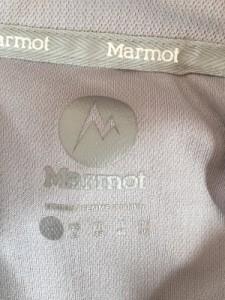 マーモット Marmot 長袖カットソー サイズL レディース ライトグレー×ピンク【中古】
