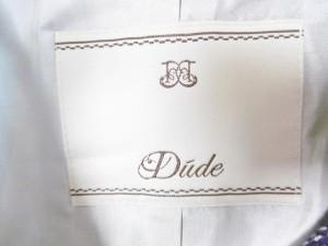 デュード Dude ジャケット サイズ38 M レディース ダークネイビー×白×レッド【中古】