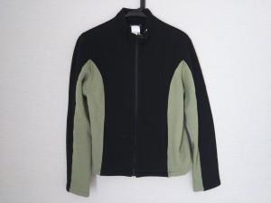 アニエスベー agnes b ブルゾン メンズ 黒×ライトグリーン 春・秋物/homme【中古】
