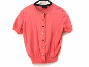 ポールスミスブラック PaulSmith BLACK カーディガン サイズM レディース 美品 ピンクオレンジ【中古】