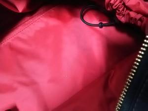 ケイトスペード Kate spade ショルダーバッグ レディース PXRU2340 黒 マザーズバッグ ナイロン×エナメル(レザー)【中古】