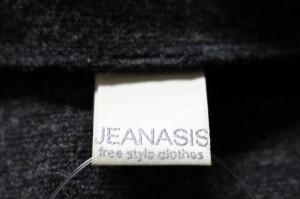 ジーナシス JEANASIS ジャケット レディース ダークグレー【中古】