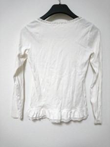 レストローズ L'EST ROSE 長袖Tシャツ レディース 白×マルチ 花柄【中古】