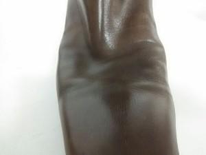 ギンザカネマツ GINZA Kanematsu ロングブーツ 24.5 D レディース ブラウン レザー【中古】