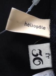 エリオポール heliopole オールインワン サイズ36 S レディース 黒【中古】