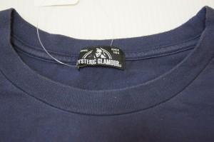 ヒステリックグラマー HYSTERIC GLAMOUR 長袖Tシャツ サイズFree  F レディース 美品 ダークネイビー×マルチ【中古】