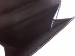 コーチ COACH Wホック財布 レディース - 黒 レザー【中古】