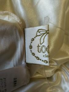 トッコ tocco スカート レディース 黒×アイボリー×ライトグレー チェック柄【中古】