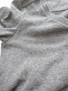 コントワーデコトニエ COMPTOIR DES COTONNIERS ワンピース サイズM レディース ダークグレー×黒×ダークグリーン ニット【中古】