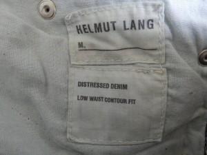 ヘルムートラング Helmut Lang ジーンズ サイズ28 L レディース 美品 ライトブルー【中古】