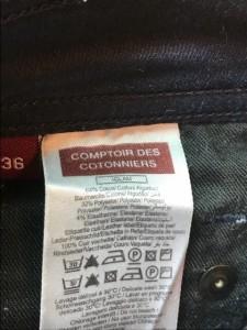 コントワーデコトニエ COMPTOIR DES COTONNIERS パンツ サイズ36 S レディース ダークネイビー【中古】