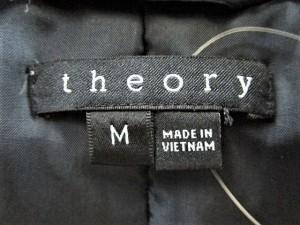 セオリー theory ダウンコート サイズM レディース ネイビー【中古】