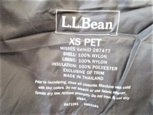 エルエルビーン L.L.Bean ブルゾン サイズXS レディース レッド×ダークグレー ジップアップ【中古】