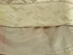 スープ SOUP スカート サイズ9 M レディース カーキ×ダークグリーン 迷彩柄【中古】