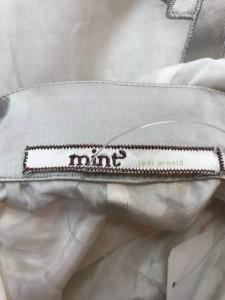 ミント MINT スカート サイズ4 XL レディース アイボリー×ライトグレー【中古】