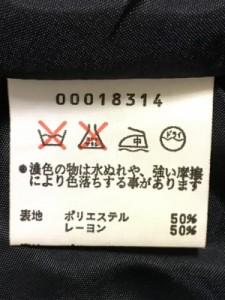 アニエスベー agnes b ジャケット サイズ2 M レディース ダークネイビー【中古】