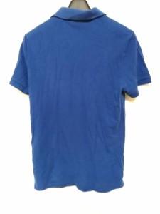 ラコステ Lacoste 半袖ポロシャツ サイズ4 XL レディース 美品 ブルー【中古】