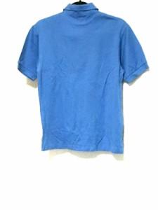 パーリーゲイツ PEARLY GATES 半袖ポロシャツ サイズS メンズ ブルー【中古】