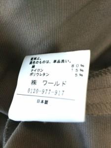 アンタイトル UNTITLED ブルゾン サイズ2 M レディース ダークブラウン 春・秋物【中古】
