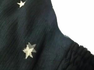 デイシー deicy チュニック レディース 美品 黒×ベージュ スター【中古】