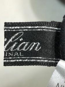 レリアン Leilian ワンピース サイズ9 M レディース 黒 ポロシャツワンピ/ビジューボタン【中古】