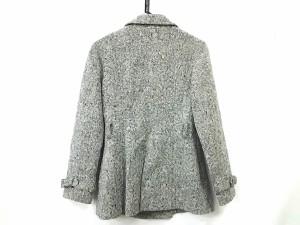 ビッキー VICKY コート サイズ2 M レディース 黒×白 COUTURE/冬物【中古】