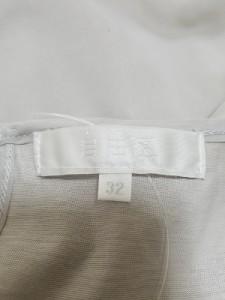 ジユウク 自由区/jiyuku 七分袖カットソー サイズ32 XS レディース 美品 グレー ビジュー【中古】
