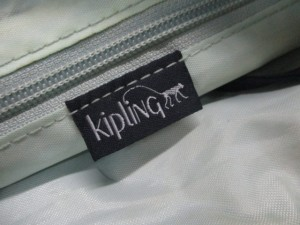 キプリング Kipling ショルダーバッグ レディース ネイビー ナイロン【中古】