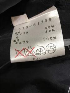 ミラショーン mila schon コート サイズ42 M レディース 黒 冬物【中古】