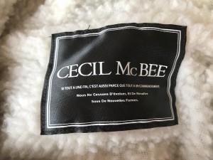 セシルマクビー CECILMcBEE コート サイズM レディース ベージュ 冬物【中古】