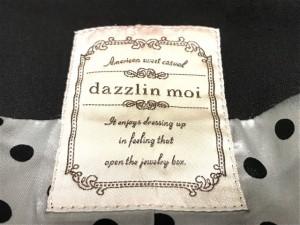 ダズリン DAZZLIN ジャケット サイズF レディース 黒 ロング丈/春・秋物/moi【中古】