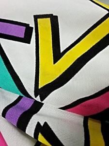 ギャラクシー galaxxxy オールインワン レディース 美品 白×マルチ【中古】