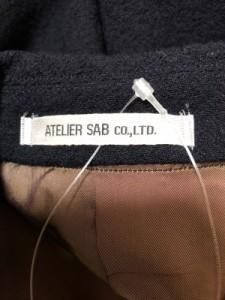 アトリエサブ ATELIER SAB シングルスーツ サイズM メンズ ダークネイビー【中古】