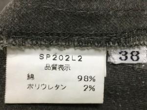 スウィンスウィング SWINSWING パンツ サイズ38 M レディース サンドブラウン ステッチ【中古】
