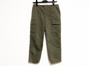 ニジュウサンク 23区 パンツ サイズ34 S レディース カーキ【中古】