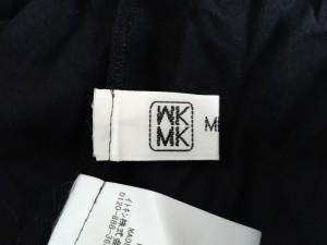 ミッシェルクラン MICHELKLEIN ワンピース サイズ40 M レディース 黒 ロング丈/レース/花柄【中古】