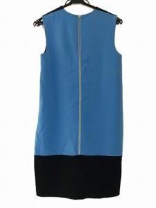 アクアガール aquagirl ワンピース サイズ38 M レディース 美品 ライトブルー×ダークネイビー【中古】