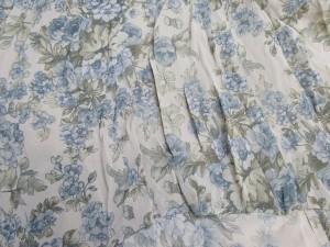 ルーニィ LOUNIE ワンピース サイズ36 S レディース 美品 ピンクベージュ×ブルー×カーキ 花柄【中古】