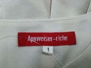 アプワイザーリッシェ Apuweiser-riche ワンピース サイズ1 S レディース ベージュ【中古】