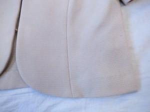 ナチュラルビューティー NATURAL BEAUTY ジャケット サイズ38 M レディース 美品 ベージュ ラメ【中古】