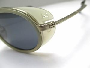 カルバンクライン CalvinKlein サングラス レディース 1003 ダークグレー×シルバー 金属素材×プラスチック【中古】
