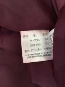 ホコモモラ JOCOMOMOLA スカート サイズ40 XL レディース 黒【中古】