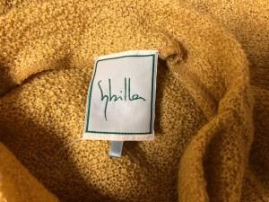 シビラ Sybilla 七分袖セーター サイズM レディース 美品 イエロー タートルネック【中古】