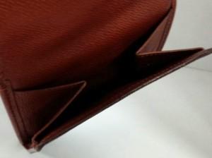 ルイヴィトン LOUIS VUITTON Wホック財布 モノグラム レディース ポルト モネ・ビエ カルト クレディ M61652【中古】