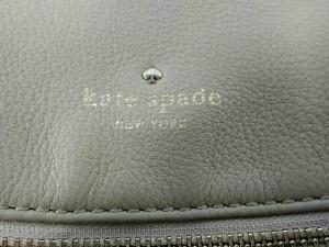 ケイトスペード Kate spade ハンドバッグ レディース ベージュ レザー【中古】
