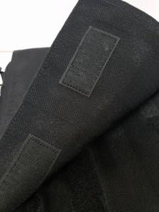 ポーター PORTER/吉田 ショルダーバッグ レディース - 黒 The 70th Anniversary/ストライプ 化学繊維【中古】