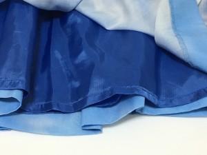 ジョンスメドレー JOHN SMEDLEY ミニスカート サイズM レディース 美品 ライトブルー×白【中古】