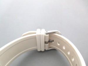 カシオ CASIO 腕時計 Baby-G BGA-134 ボーイズ ラバーベルト 白×グレー【中古】